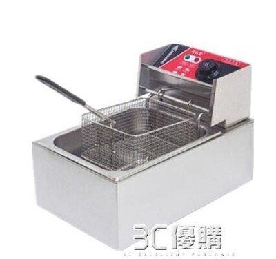 廚立信油炸鍋商用電炸爐電炸鍋油條機炸串炸薯條薯塔機油炸機雙缸HM
