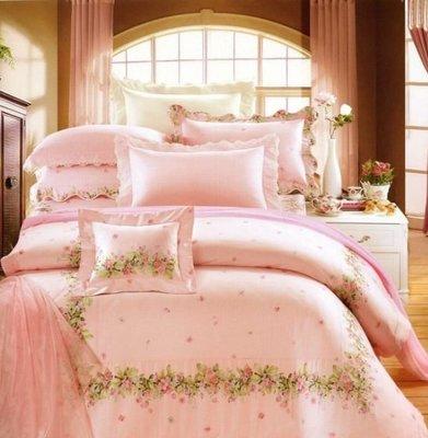 【芃云生活館】~ ☆*專櫃品牌~頂級60支精梳棉雙人加大床包兩用被四件組
