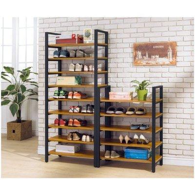 鐵藝復古鞋櫃鐵邊櫃玄關櫃loft鐵藝裝飾傢具櫃子(高低可選)