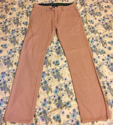 優質古著 美國 The hundereds 炸彈 滑板褲 窄版合身 工作褲 Size 32