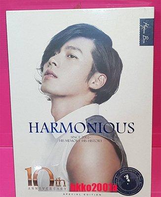 玄彬 [ HARMONIOUS 十過年紀念 寫真集+4 DVD ] Hyun Bin 10th