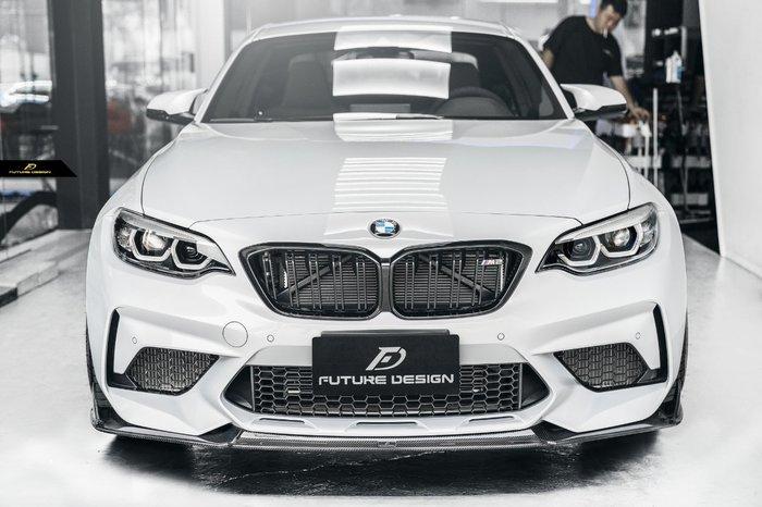 【政銓企業有限公司】BMW F87 M2C 專用 FDGT 高品質 抽真空 卡夢  前下巴 現貨 免費安裝 保固兩年
