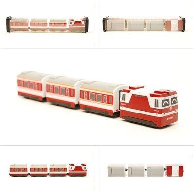 【喵喵模型坊】TOUCH RAIL 鐵支路 Q版 韶山6B型電力機車小列車 (QV034T1)
