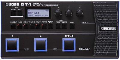 ♪♪學友樂器音響♪♪ BOSS GT-1 電吉他綜合效果器 gt1