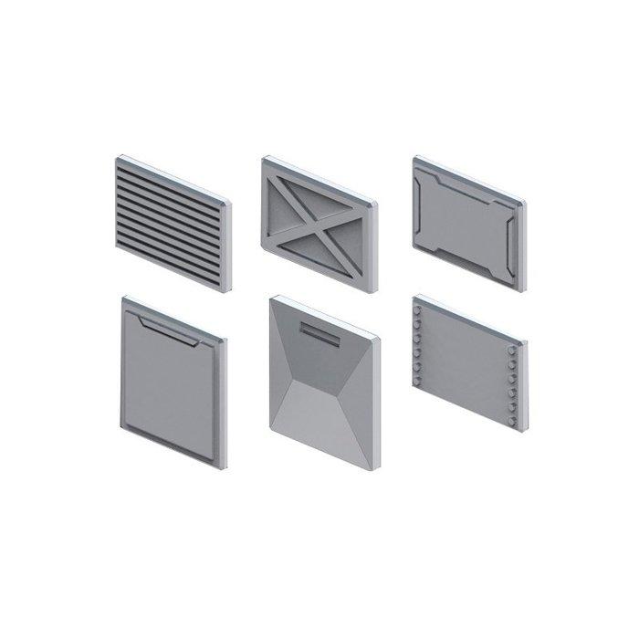 萬代模型 強化配件 BUILDERS PARTS MS 面板 01 公式改造零件