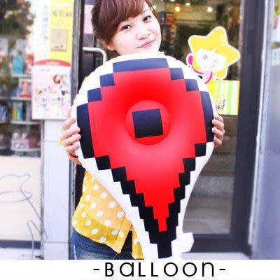派對 讚 氣球 5折 居家佈置 道具 婚禮 打卡 地標 ( 充氣氣球-印刷微NG ) 點擊手 箭頭 iHOME愛雜貨