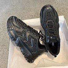墨染·黑色老爹鞋女潮ins歐洲站2121冬季新款加絨顯腳小百搭超火運動鞋