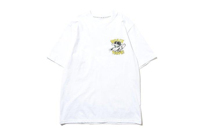 [ LAB Taipei ] REMIX ' 20 S/S R-RAT TEE [ 白 ]