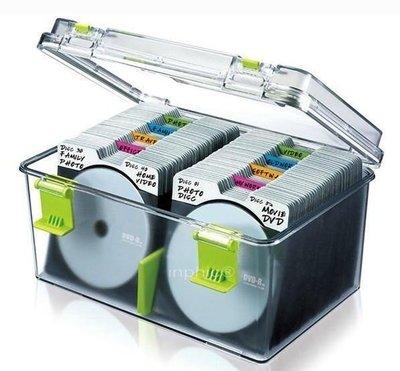 INPHIC-大容量220片CD盒 防潮手提式光碟盒CD冊