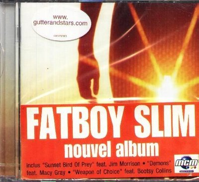 K - FATBOY SLIM - Halfway Between the Gutter and the -NEW