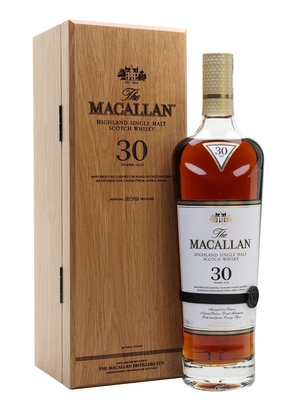 Macallan 30 years 2019 sherry oak whisky 700ml