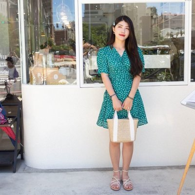 【ZEU'S】踏青田園浴袍款綁帶洋裝『 06219912 』【現+預】FA