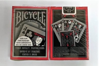 【USPCC 撲克】橋牌BICYCLE 808 TRAGIC ROYALTY V2