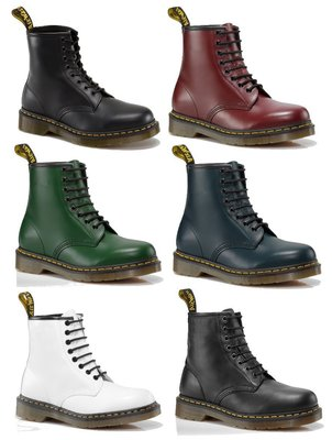 { POISON } Dr. Martens 經典鞋款 1460 原創8孔中筒靴  經典配色 黃線膠底 全尺寸訂購