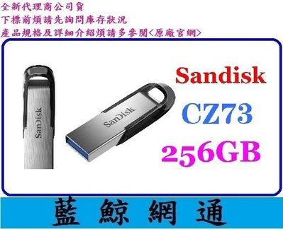 【藍鯨】代理商公司貨 SanDisk CZ73 256GB 256G Ultra Flair 隨身碟 高雄市