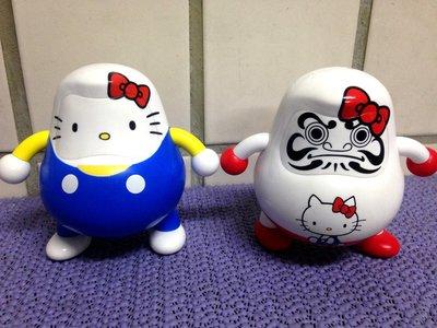 日本DARUMA CLUB三麗鷗HELLO KITTY達摩兩款一組