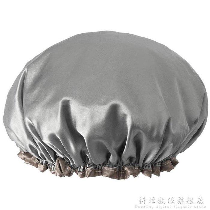浴帽加大防水成人女款洗澡頭發罩沐浴頭套防水帽發套KXSW22832