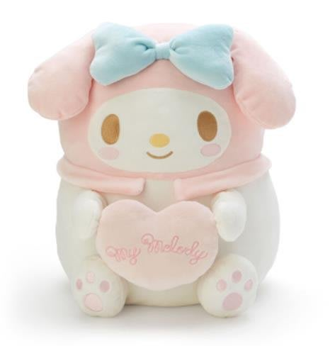 【莓莓小舖】正版 ♥ Sanrio 三麗鷗 Melody 美樂蒂 抱枕 麻糬娃娃 玩偶