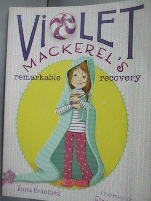 【書寶二手書T9/原文小說_LDO】Violet Mackerel's Remarkable Recovery_Bran