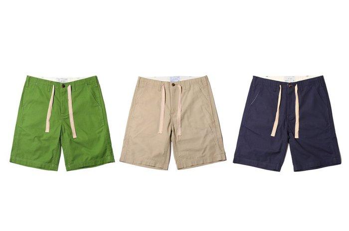 { POISON } LESS EASY SHORT-S 防撕裂十字紋材質 輕爽素材 五分短褲