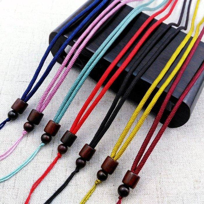 新款木桶項鏈繩 DIY檀木項鏈吊墜玉牌手工編制木桶珠掛繩木質配件(220元以上發貨,購買數量,規格不同價格不同