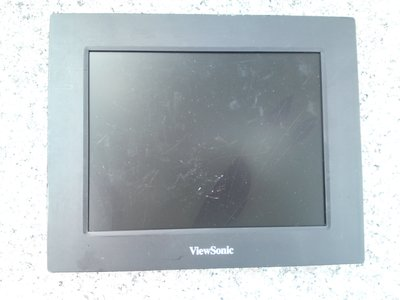 ViewSonic VFD823-50P數位相框 VS13787 螢幕破損-無配件-《平板類》- 純以零件機出售(缺件