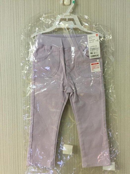 ☀APPLE SHOP☀ UNIQLO Baby嬰幼兒 多色牛仔褲(淡紫) 尺寸:80、90