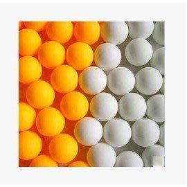 【乒乓球-無標無字-直徑40mm-2.7g/個-150個/袋-1袋/組】練習用乒乓球多功能無標無字乒乓球袋裝-56014