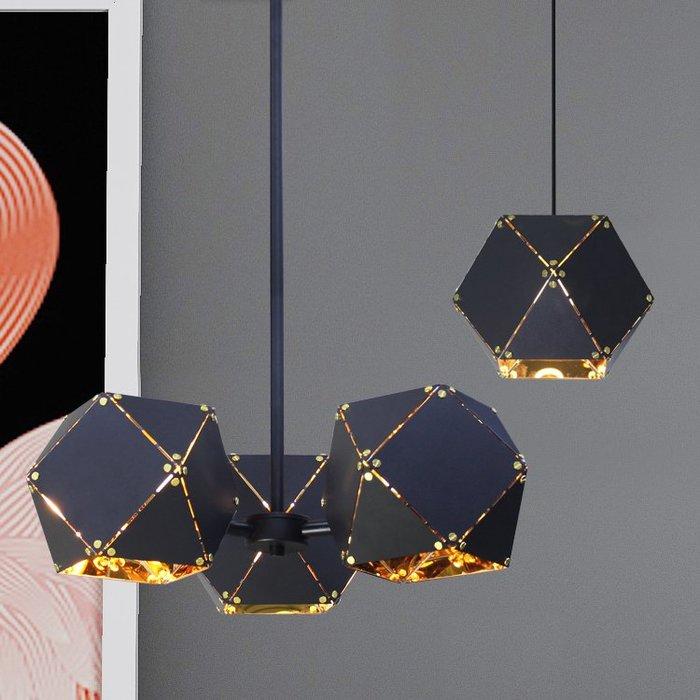 【58街】「6角芒星幸運吊燈」低調奢華極致典雅品味/工程燈具/美術燈。複刻版。GH-579