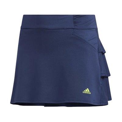 [小鷹小舖] Adidas RUFFLED SKORT 阿迪達斯 高爾夫 小孩 青少年 短裙 柔軟彈力面料 紫外線50+