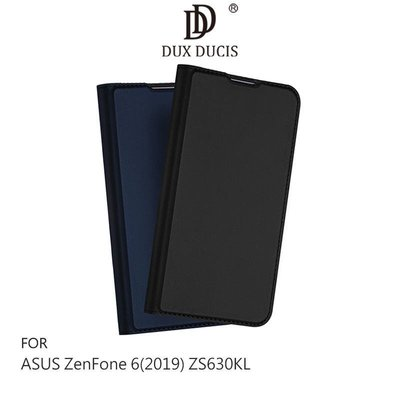 *phone寶*DUX DUCIS ASUS ZenFone6 ZS630KL 奢華簡約側翻皮套 可站立 可插卡 保護套