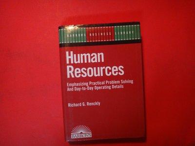 【愛悅二手書坊 25-03】Human Resources (Barron's Business Library)