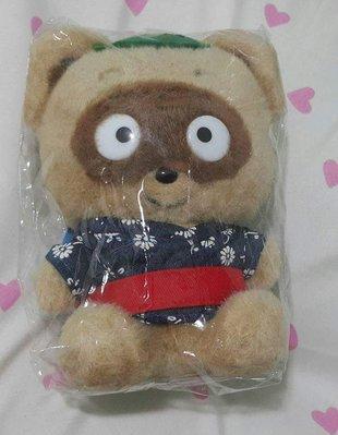 絕版 Sanrio 2000年 100隻公仔 浣熊日記一對
