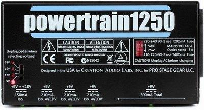 ☆ 唐尼樂器︵☆ Pedaltrain Powertrain 1250 效果器 電源供應器(公司貨保固/全系列進駐唐尼)