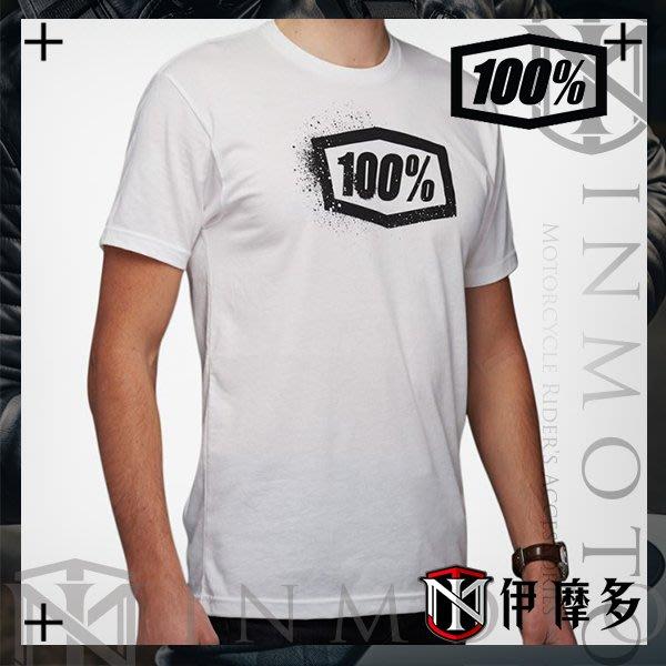 伊摩多※美國Ride 100% TEE SAGA 男款經典短袖 白色 T恤 T-Shirt 32084-000