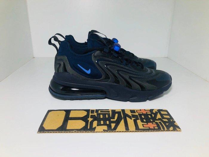 【OB海外連線】NIKE Air Max 270 React ENG 黑 深藍 氣墊 全黑 慢跑鞋 CD0113-001