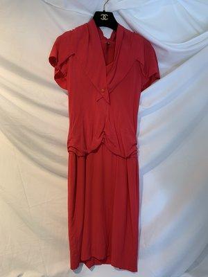 Box room 名品二手 / Chanel 真品 超美  紅色  vintage  洋裝