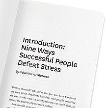 哈佛商業評論:在工作壓力管理指南 英文原版 HBR Guide to Managing Stress at Work