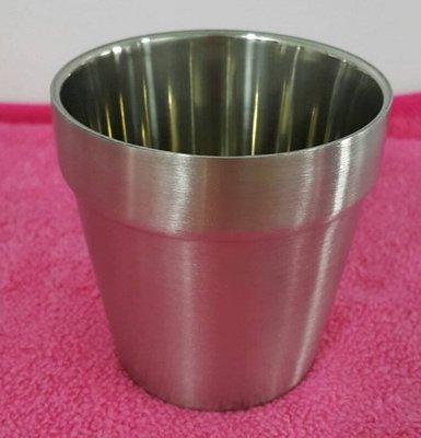 【信福璇律】優得 #304 雙層隔熱杯 200ml 不銹鋼杯 隔熱杯 疊杯 小鋼杯 隨身杯 露營杯 野餐杯 水杯 口杯