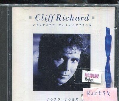 *真音樂* CLIFF RICHARD / PRIVATE COLLECTION 二手 K25574