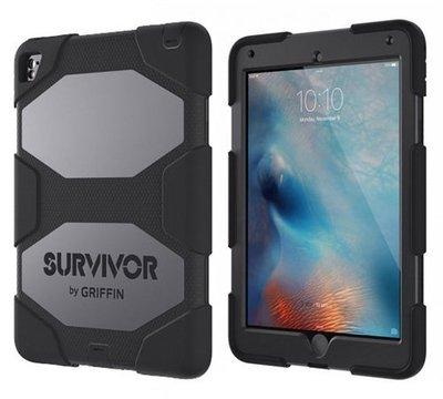 【現貨】ANCASE Griffin Survivor All Terrain iPad Pro 9.7防護矽膠保護套黑