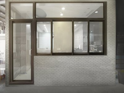 JW-048 落地門+氣密窗,採光罩 鋁門窗 景觀窗 店面門 折疊紗窗 淋浴拉門 單玄關 拆除 裝潢 原廠 正新