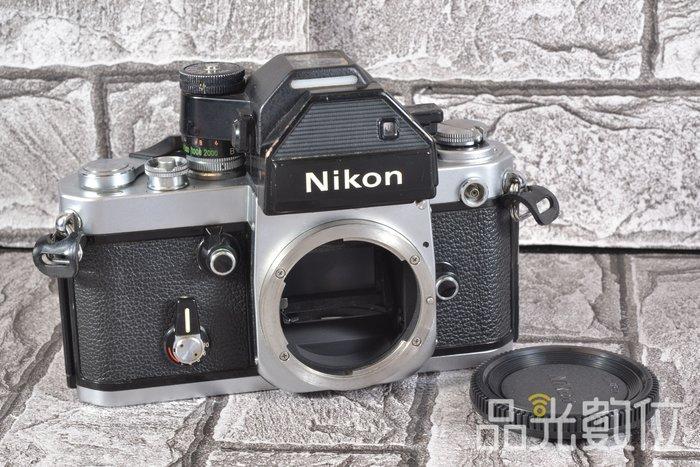 【品光攝影】Nikon F2 + DP-2 單機身 經典機械式底片機 含DP2測光頭 銀機 HA#55054