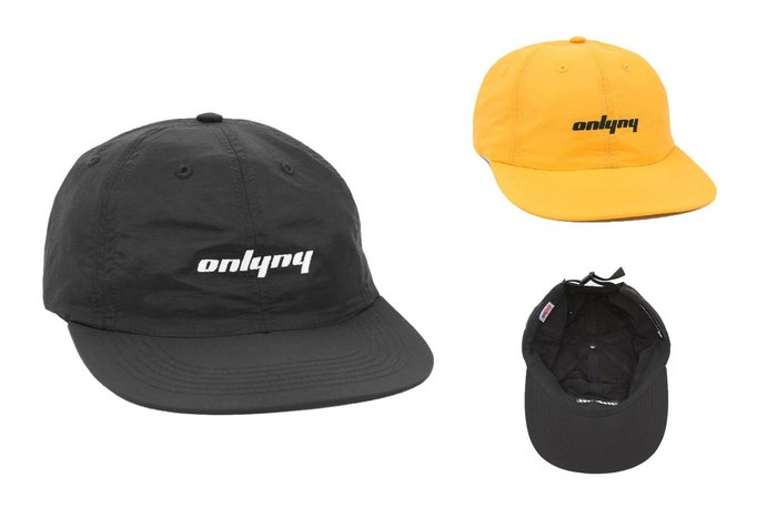 { POISON } ONLY NY PACE POLO HAT 經典字樣刺繡老帽棒球帽 美國製