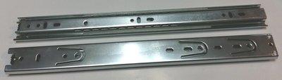 臺灣製造 三截 鋼珠滑軌 (滑軌、抽屜、三節、家具)  寬36  400mm
