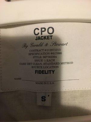 Fidelity 羊毛襯衫外套 美製 或 換M
