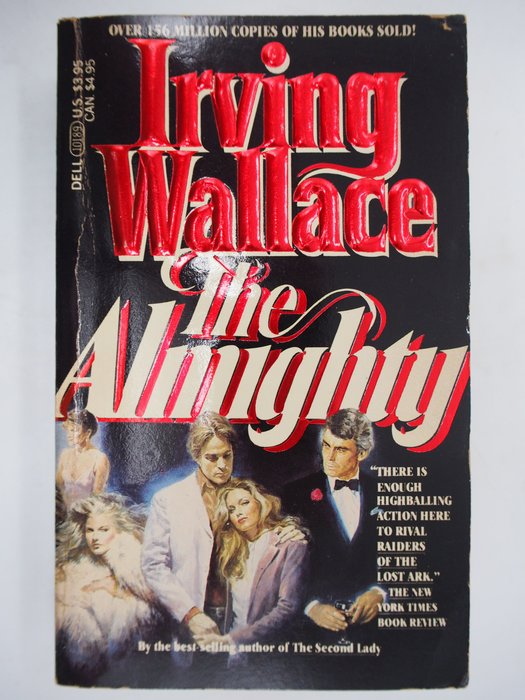 【月界二手書店】The Almighty_rving Wallace 〖外文小說〗CJO