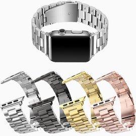 【三珠不鏽鋼】38mm Apple Watch 1 Series 2 智慧手錶錶帶/ 經典扣式錶環/ 金屬式/ 替換式/ 有附連 台中市