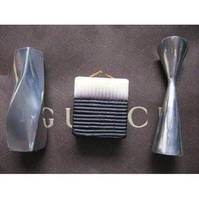 連卡佛 2 個 實心銀加不銹鋼香薰香薰蠟燭座 + 1 個 香薰蠟燭 (100%全新)