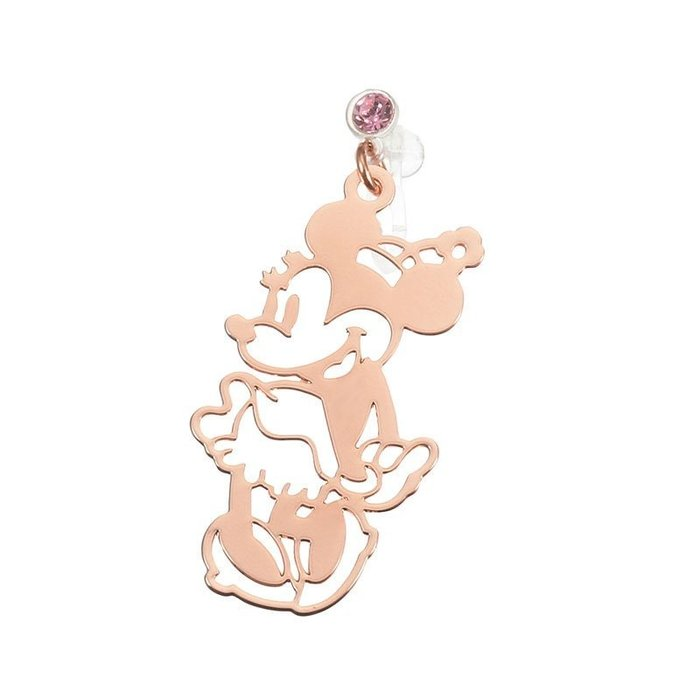 日本東京迪士尼商店 米妮甜心/愛麗兒貝殼/米奇聖誕樹  單耳矽膠耳夾式耳環